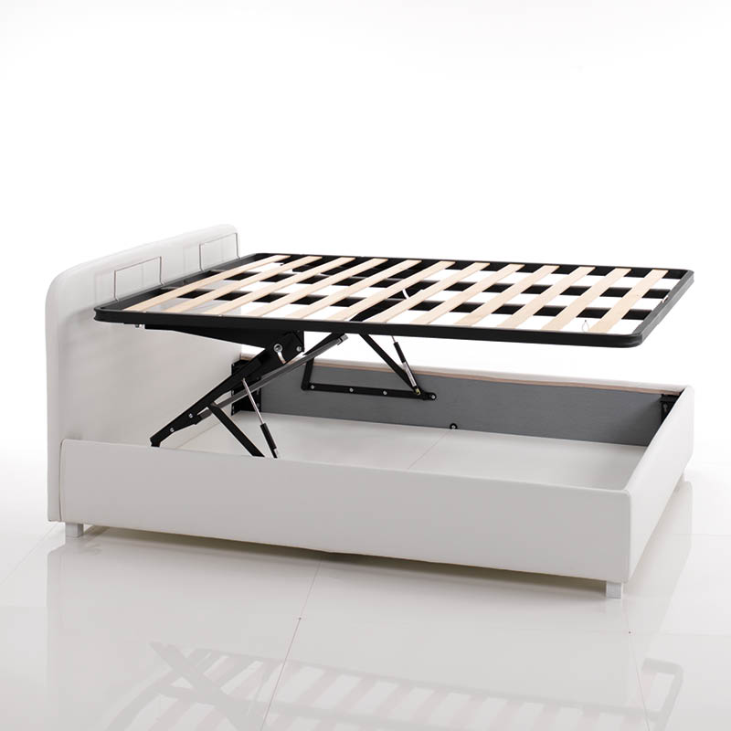 Box contenitore doppia alzata brevettato lettissimi - Tv a scomparsa sotto il letto ...